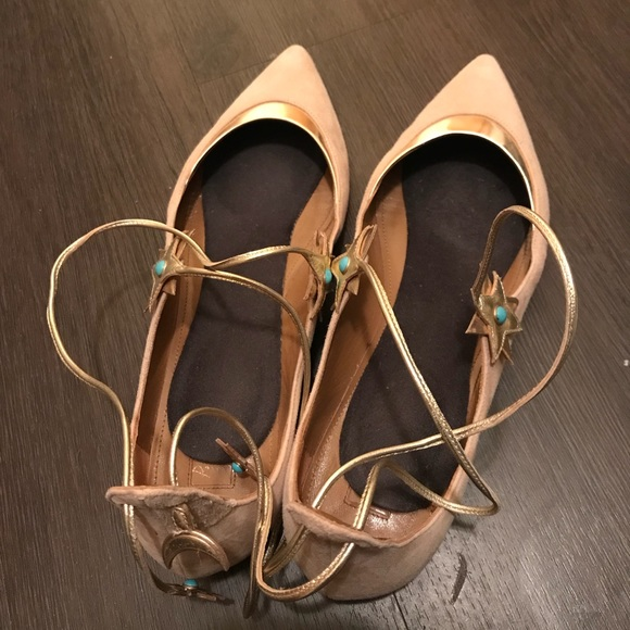 Aquazzura Shoes - AQUAZURRA Flat Shoes Rare Find!